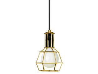 Design House Stockholm Work Lamp valaisin, kulta